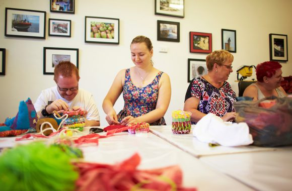 Workshop image: Community Art Studio: Fremantle