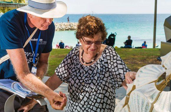Exhibition image: Sculpture by the Sea: Tactile Tours