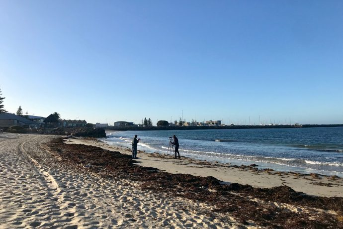 DADAA | filming on beach