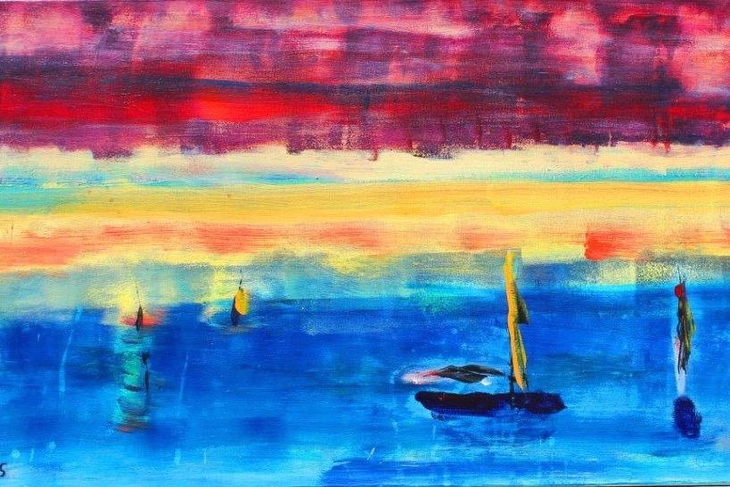 DADAA | Lancelin | painting of boats