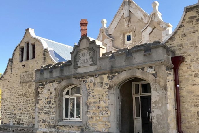DADAA | Fremantle Hub Old Boys School building