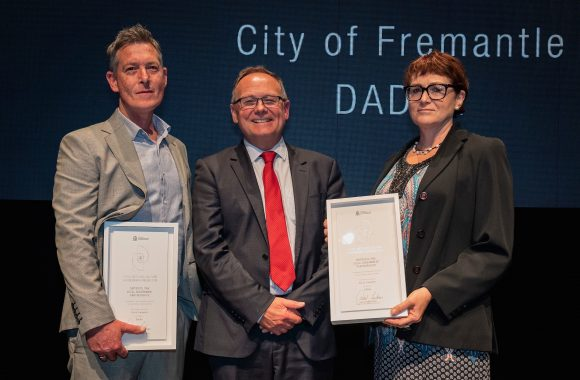 Thumbnail for City of Fremantle / DADAA partnership wins State Honours news post