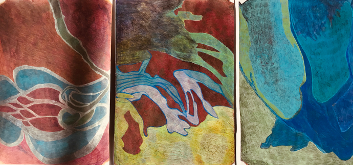 Image of work on paper by Karen McCullough